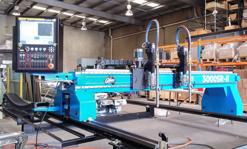 SR-II Plasma Series Plate Cutting Machines